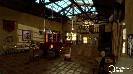 Обзор локации Uncharted (на первом этаже)