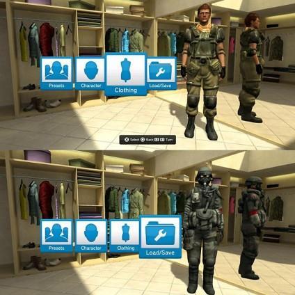 Костюмы из Killzone 2 в HOME