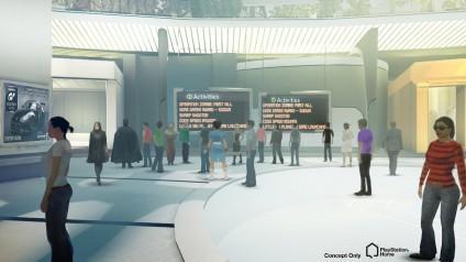 Central plaza будущего